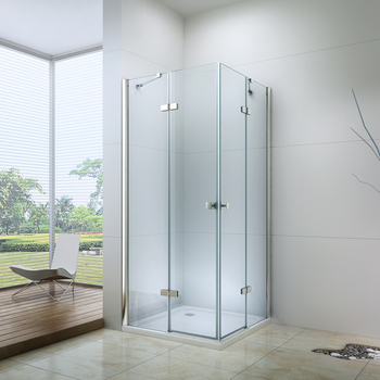 Ex-407 Tempered Glass Hinged Shower Doors - Buy Hinged Shower Doors,Glass  Shower Doors,Tempered Glass Shower Doors Product on Alibaba com