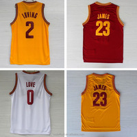 Basketball clothing Top Quality CAVS Kevin Love 0 LeBron James 23 basketball jerseys design Cheap basketball wear