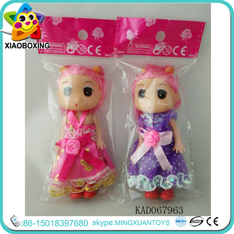 2016 China Factory Make Up Cute Children Girl Barbie Doll