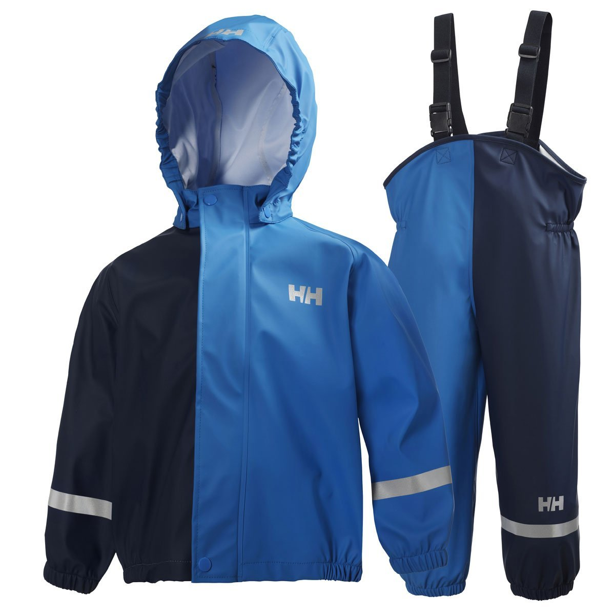 Helly Hansen 2015/16 Kid's K Voss Rainset Jacket and Pants - 43141