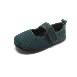 Wholesale fashion children party shoes soft sole canvas Baby walking shoes