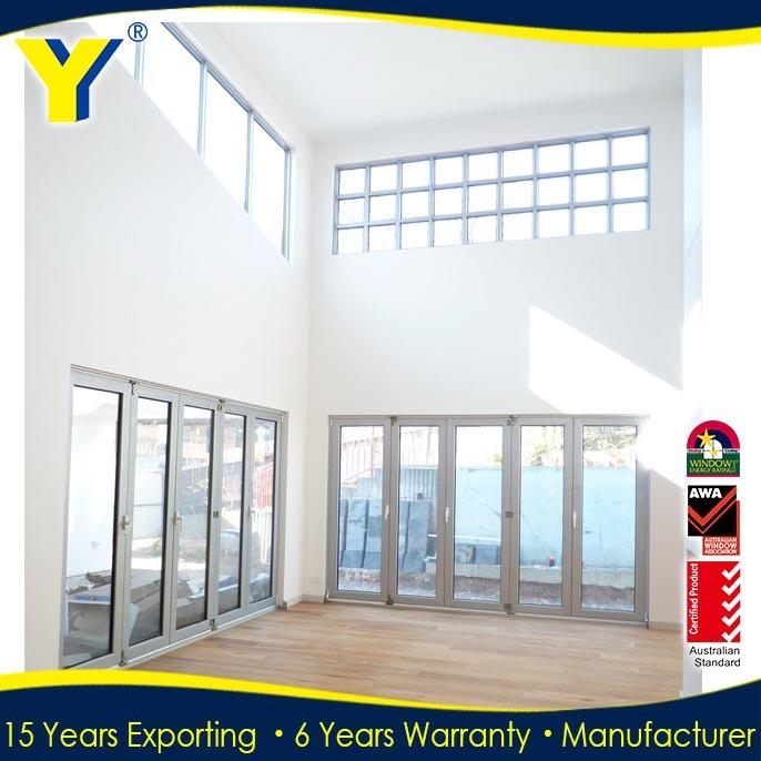 Australian standards aluminum bifold windows design for New house windows for sale