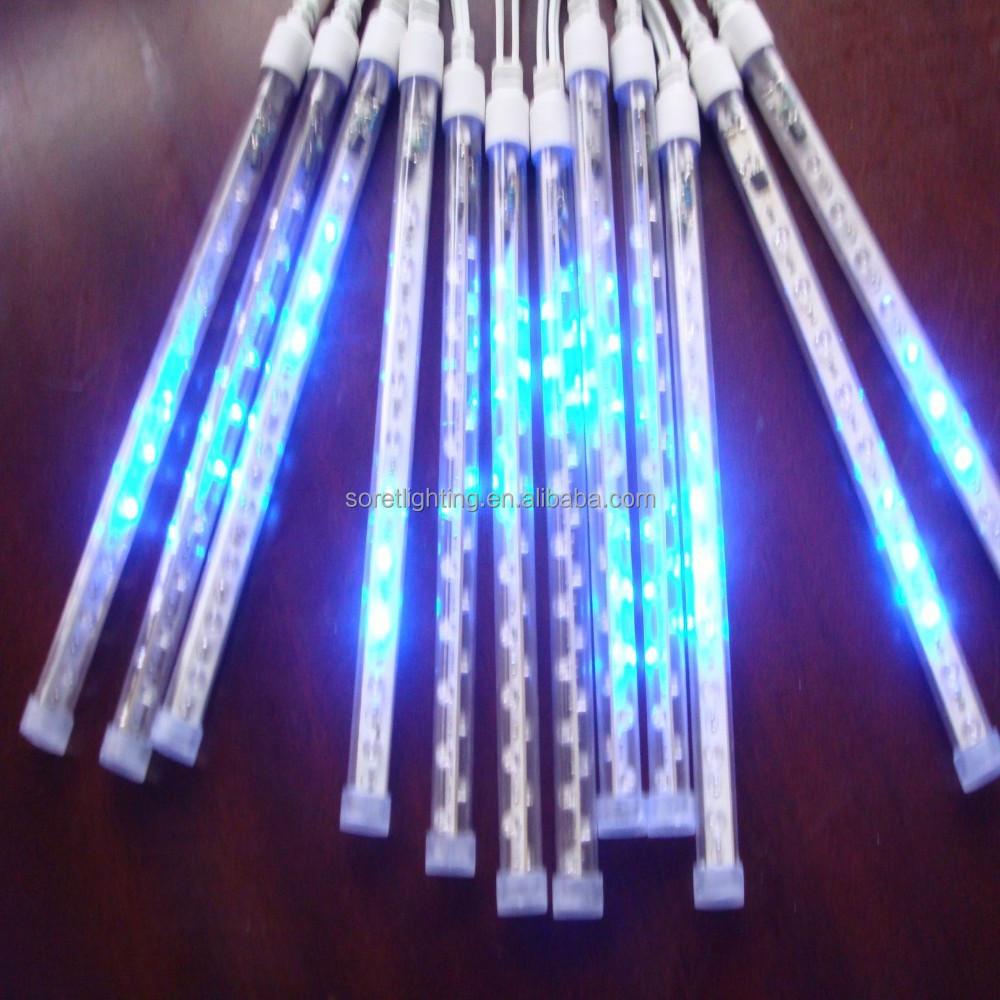 Weihnachtsbeleuchtung Tropfen.24v Ip44 Smd3528 Führte Meteorschauerlicht Wasserdicht Regentropfen Weihnachtslicht 20cm 40cm 60cm