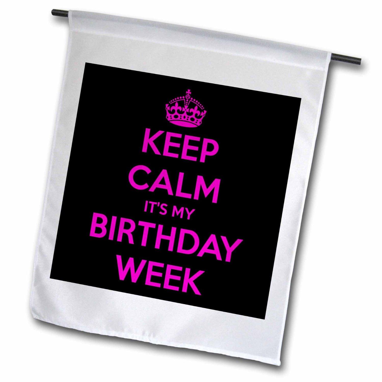 Buy Evadane Funny Quotes Keep Calm Its My Birthday Week Black