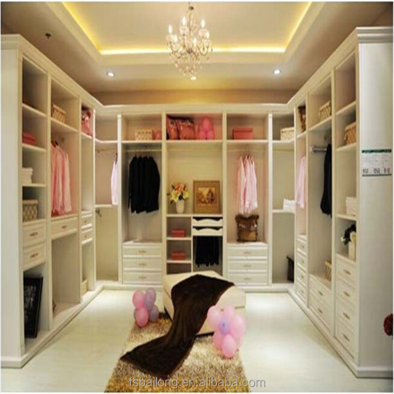 Modular laminate bedroom wall wardrobe design