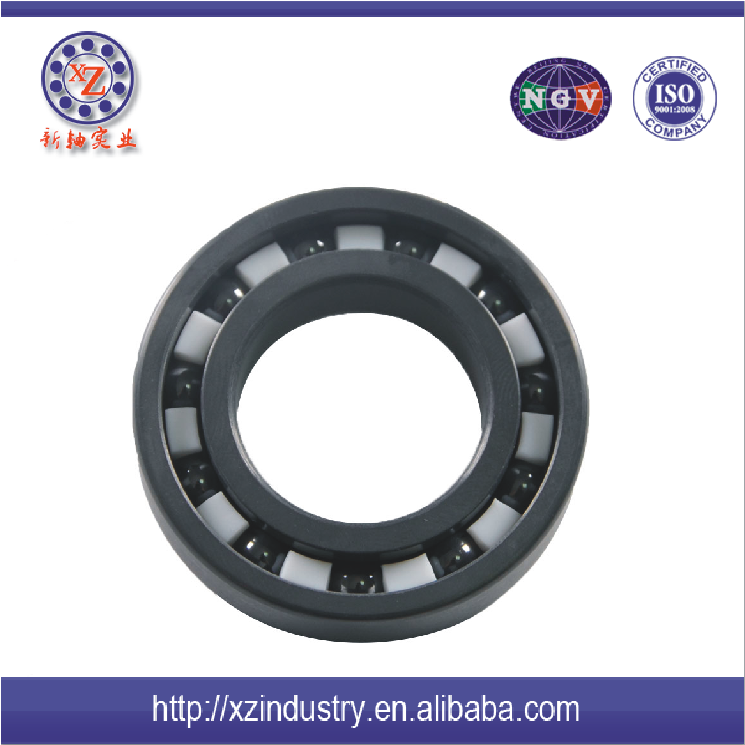 high speed Silicon nitride full ceramic deep groove ball bearing 6207 price
