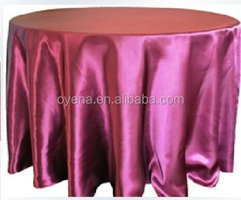 Plum Color Table Cloth