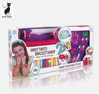 Girl Toy DIY Knitting Machine Bracelet Maker for Accessory Decoration