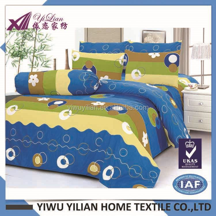 Most popular different types super king bedding bright color comforter with good offer