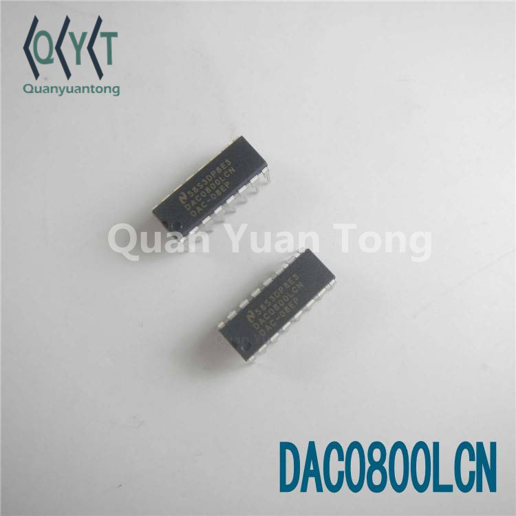 Digital to Analog Converters DIP IC DAC0800LCN