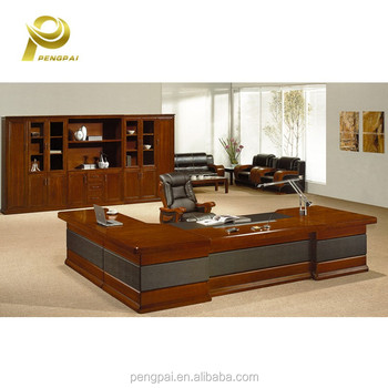 Import Large Size Malaysia Used Furniture Antique Director Office Table For  Sell