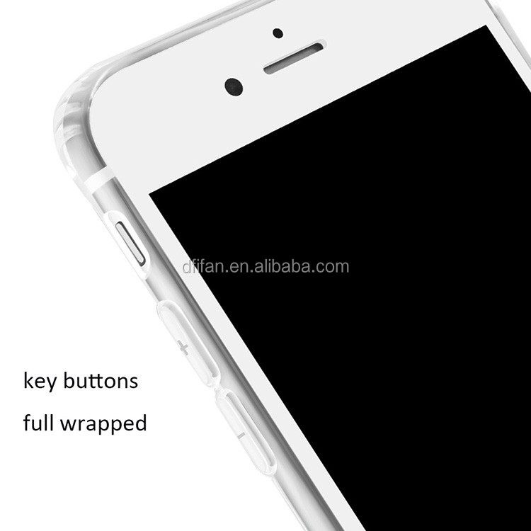 Mobile phone accessories Case 2016 ,Crystal case for iphone 7, transparent phone case for iphone 7 plus