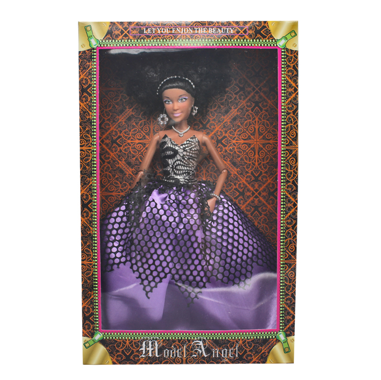 12.5 Inches Plastic American Black Fashion <strong>Doll</strong>