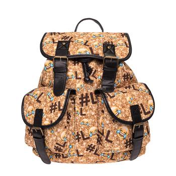 2016 3d Printed Emoji Vintage Canvas Rucksacks Cute School Satchel Rucksack Backpack Campus Bag