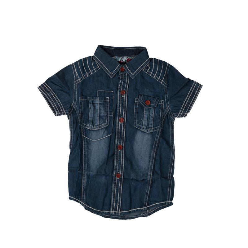 43d9f777f Get Quotations · New 2015 100% Cowboy Boys T-shirt Turn-down Collar Short T-