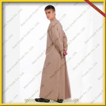 Hot Sale Muslim Long Thobe For Men Arab Men Thobe Mens Clothing ...