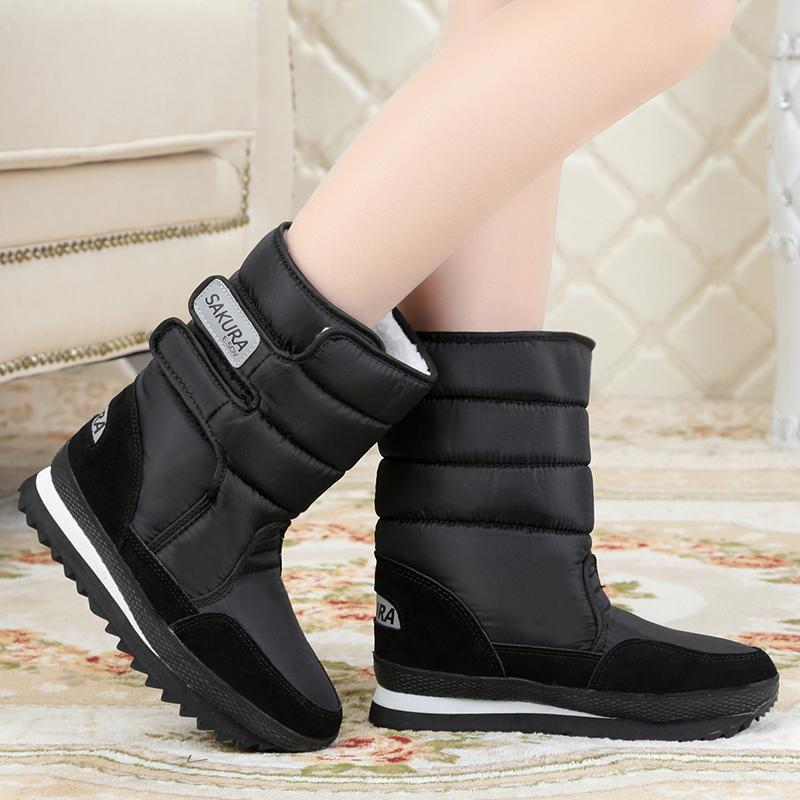 el precio más baratas amplia selección de diseños mejor sitio botas termicas de mujer
