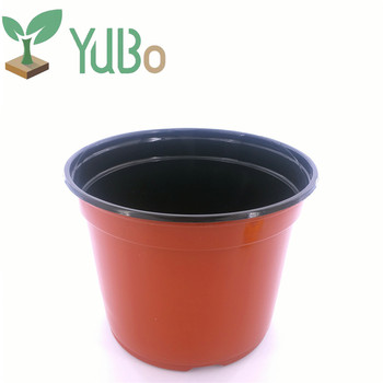 Chinese Factory Nursery And Garden Center 8 Inch Flower Pot, Plastic Plant  Orchid Plant Pot