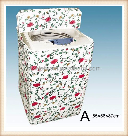 Wholesale cheap PEVA Custom washing machine fabric cover