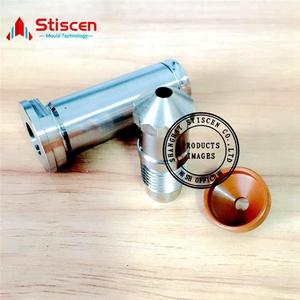 Hi-Q shut off nozzle hot runner preform mold making husky injection molding