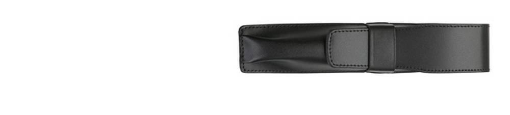 Lamy Unisex Single Leather Pen Case - Black