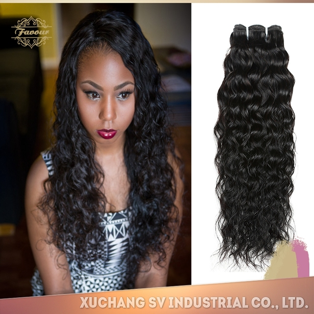 Buy Cheap China Hair Extensions Black Weft Wavy Products Find China