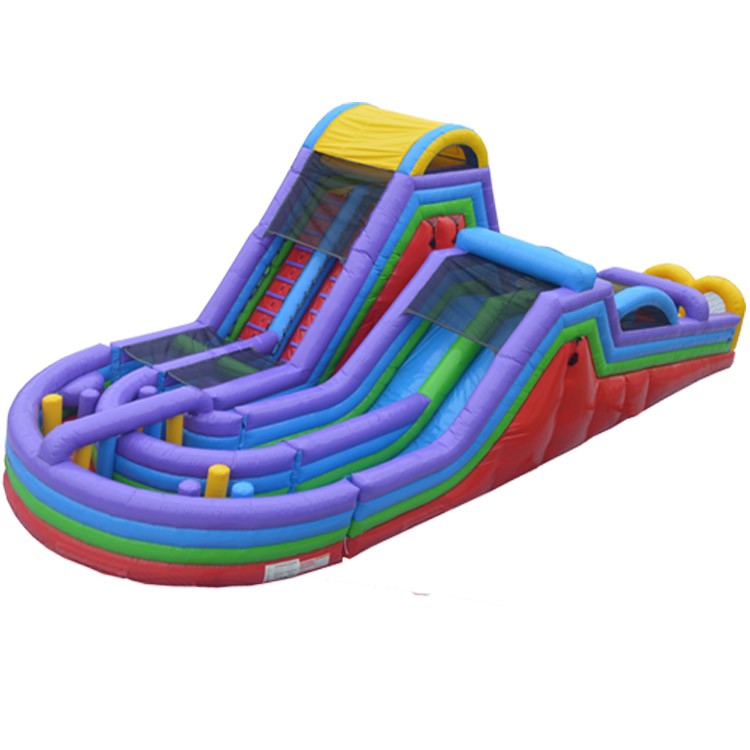 Christmas Inflatable Bounce House Slide