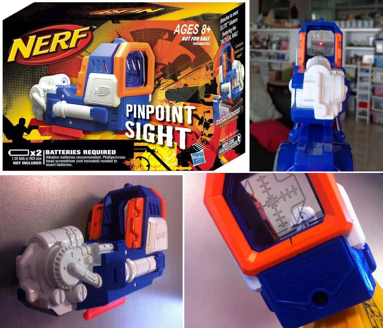 Nerf Pinpoint Sight Elite Rebelle Strike Mount Mission Kit Hasbro