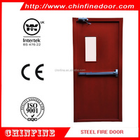 Low price 2.0H(120MINS) fire door fire rated door fire exit door with BS and UL certificate