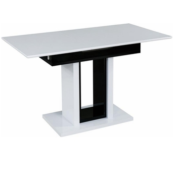 Malaysia Style Mdf Modern Extendable Dining Table Buy Extendable