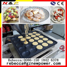Dorayaki Pancake Maker ,egg waffle maker , cast iron poffertjes pan with 25 dimples