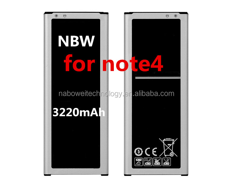 Original 3220mAh replacement Li-ion battery for Samsung Galaxy Note 4