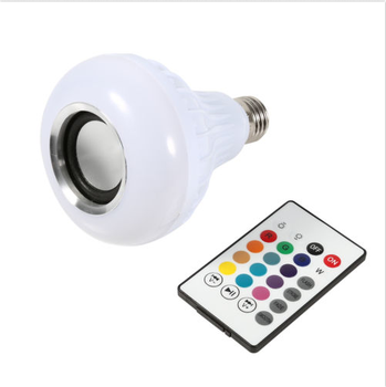 High Quality Smart Bluetooth Music Light RGBW LED Bulb Audio Speaker Music Playing