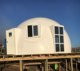 Hot sale fiberglass water proof portable dome house