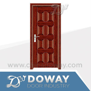 Anti-theft Steel & Wood Door Steel Door Skin