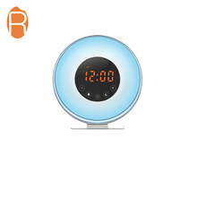 Di alta qualità stazione meteo alba wake up luce da tavolo a led digital alarm clock