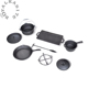 Soybean oil coating cast iron camping pot sets, Amazon hot sale