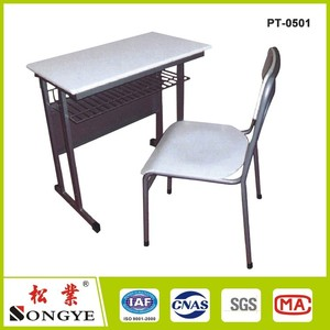 school desk for single seat separate, single seat student desk chair detached