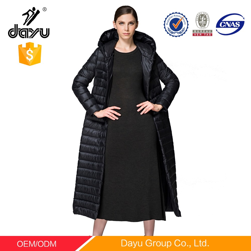 Ladies Full Length Down Filled Coats | Fashion Women's Coat 2017
