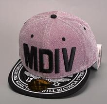 Hot selling MDIY letter 3d embroidery outdoors sports snapback hats hiphop rock baseball basketball running students caps