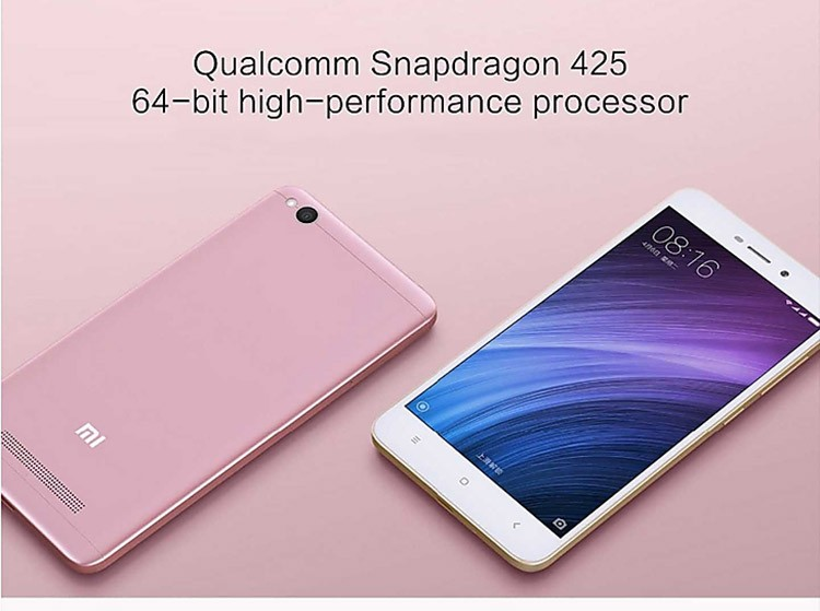 Newest Xiaomi Redmi 4A Snapdragon 425 Quad Core 2GB +16GB 13.0MP 4G-LTE Redmi mi mobile phone price list redmi mi 4a