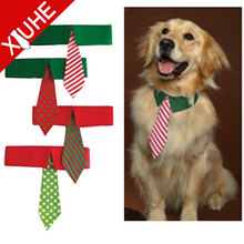 Pet accessories polyester bow tie for dog