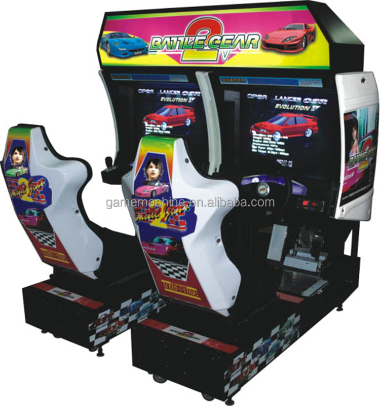 """Cy-rm29-8 52""""lcd Double Players Battle Gear 2 Car Games Driving ..."""