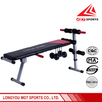 Hot sale home sit up bench exercise equipment made in china
