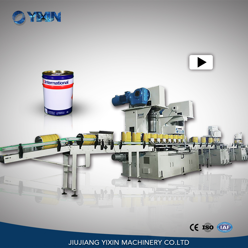 Yixin Technology Automatic big round can making machine