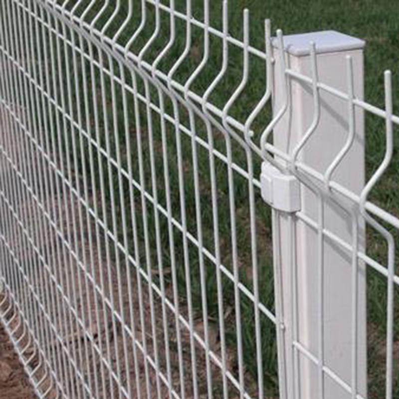 White Vinyl Coated Welded Wire Mesh Fence Buyer - Buy Cheap Fences ...