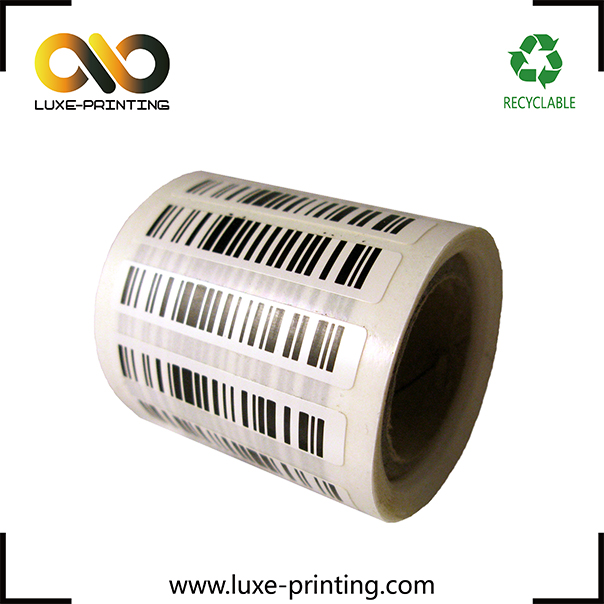 Low Cost RFID Paper Roll Labels Small Size UHF RFID Tags 915mhz Adhesive Labels