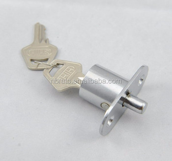 High Quality Zinc Alloy Furniture Push Office Desk Drawer Lock