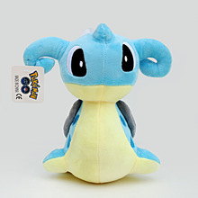 New Arrival Pokemon Plush Toy Doll Blue Dragon wholesale Child Toy
