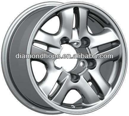 ZW-AU-5064 Popular curved spokes custom alloy wheel 16 17 18 19 inch